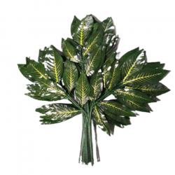 60 CM X 70 CM - Fabric Artificial Leaf - Hanging Leaf - Door Hanging 1 Packet (12 Piece)