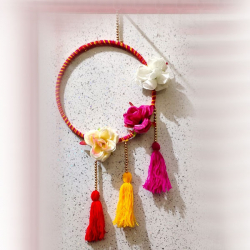 10 Inch X 22 Inch - Ring - Multicolor - Jhumar - Wall H..