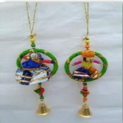 3 Inch x 10 Inch - Car Hanging Puppet's - Rajasthani Pu..