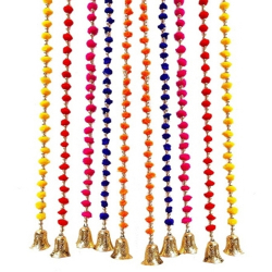 4 FT - Pom-Pum Latkan - Lout-con - Hanging Ladi - Multi Color