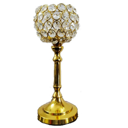 7 Inch - Fancy Candle Stand - Table Stand  - Festival G..