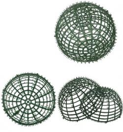 11.8 Inch - Flower Frame - Flower Roof  Holder Frame - Made of Plastic Material - Round Shape