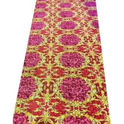 5 FT X 30 FT Multi Color Maharaja Galicha - Printed Galicha - Carpet - Floor Mat - Mat - Made Of Jute  Material