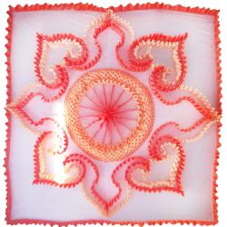 18 FT X 18 FT - Designer Mandap Ceiling Cloth - Shamiyana Ceiling - Taiwan Top - 26 Gauge Bright Lycra Cloth - Multi Color