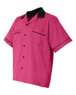 Kitchen Uniform - Chef Coat - Chef Vest - Unisex Chef Uniform - Kitchen Apparel - Half Sleeves - Made Of Premium Quality Cotton Pink Color (Available Size 38 , 40 , 42 , 44 , 46 , 48)