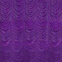 10 Ft X 15 Ft - Designer Curtain - Parda - Stage Parda - Wedding Curtain - Mandap Parda - Background Curtain - Side Curtain -  Made of Bright Lycra - Purple Color