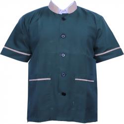 Kitchen Uniform - Helper Boy Dress - Kitchen Apparel - Half Sleeves - Made Of Premium Quality Cotton (Available Size 38 , 40 , 42 , 44 , 46 , 48)