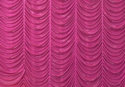 10 Ft X 15 Ft - Designer Curtain - Parda - Stage Parda - Wedding Curtain - Mandap Parda - Background Curtain - Side Curtain - Made Of Bright Lycra - Pink Color