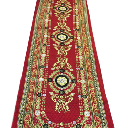 5 FT X 15 FT Multi Color Galicha - Printed Galicha - Carpet - Floor Mat - Mat - Made Of Jute carpet - Weight ( 6 KG )