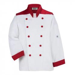 Waiter Uniform - Bartender Coat Or Vest - Kitchen Uniform - Full - Neckline - Sleeve-less - Made Of Premium Quality Polyester & Cotton - (Available Size 38 , 40 , 42 , 44 , 46 , 48)